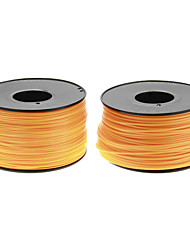 Reprapper 3D Printer Consumables Orange Color (Optional Wire Diameter and Material) 1 Piece