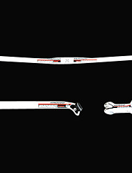Bike Handlebar Set / Handlebar Mountain Bike/MTB White / Red Aluminium Alloy