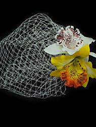 Women's Fabric Headpiece-Wedding / Special Occasion / Outdoor Fascinators Yellow