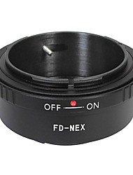 EMOLUX  FD Lens for SONY NEX-5 NEX-3 NEX-VG10 NEX-C3 E Mount Adapter