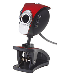 8.0 Megapixel 360 gradi USB rotante Webcam Drive-libero