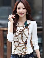 Women's Casual Shirts , Cotton Casual YGR