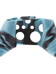 Silicone Skin Case for XBOX ONE (Blue + Black)