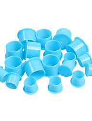 100 Ink Caps  Plastic Cups Tattoo Supply