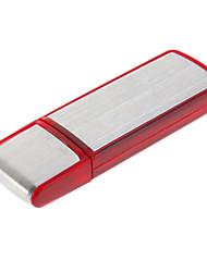 8gb usb flash gravador de voz disco vermelho