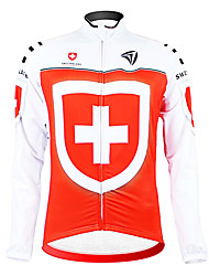 Kooplus - Swiss National Team Cycling Long Sleeve Fleece Jersey