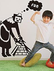 Горничная Робот, настенные стикеры