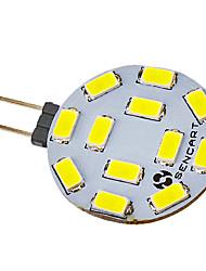Faretti LED 12 SMD 5730 G4 5W 300-320 LM Luce fredda V