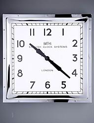 """16.25 """"H style moderne Horloge murale en métal"""