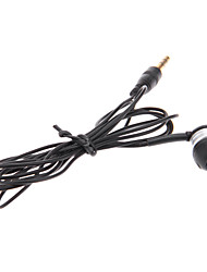 Single In-Ear Earphone (Black)