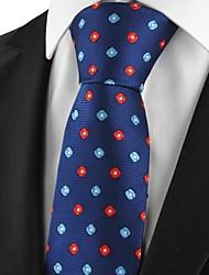 Vérifiez le modèle Marine Rouge classique hommes Tie Souvenirs partie formelle de cravate