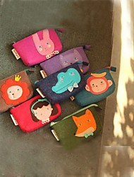 Cartoon Animal Woolen Wallet (More Colors)