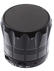 S12 Bluetooth Speaker com leitor de cartão TF (Preto)