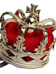 De Queen of Hearts Golden Women's Party Crown