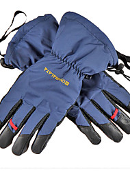 CNHIMALAYA Waterproof Navy Blue Ski Gloves