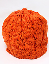 Chunyazi Lässige Warm Solid Color Hat (Orange)