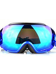 BASTO preto + azul Quadro azul Sensor Espelho Lens Neve Googgles
