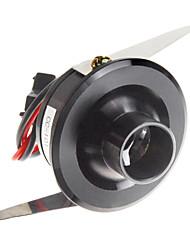 1W 110LM 8000-10000K fredda luce bianca dello specchio LED Wine Cabinet lampada-Black (CA 90-240V)