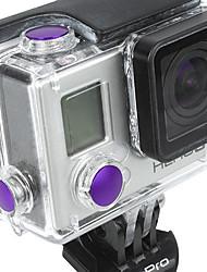Acessórios para GoPro,BotãoPara-Câmara de Acção,GoPro Hero 5 Todos Liga de Alumínio