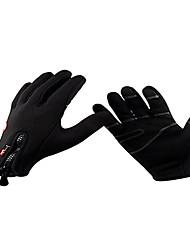 Unisex inverno cheio de dedo Touchscreen Luvas