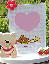 """5.5""""H Country Style Cute Bear Picture Frame"""