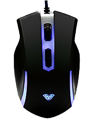 DPI Instant Switching Multi-keys Super Dazzle LED Gaming Wired PS/2 Mouse