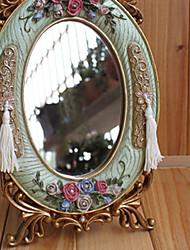 "10.25 ""H Style Contemporain de table européen Miroir"