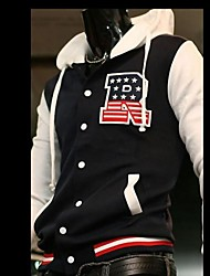 Men's Fashion With A Hood Baseball Jacket