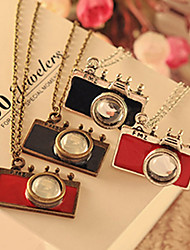 Dumoo Cute Mini Camera Shape Necklace(Random delivery&Just Only One)