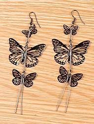 Women Beautiful Butterfly Pendant Earrings