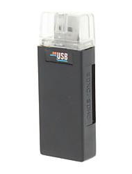 All-in-een USB 3.0 Memory Card Reader en Writer (wit)