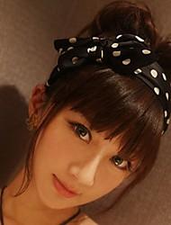 Women's Polka Dots Bow Headbands