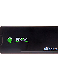 RKM(Rikomagic)MK802IV Android 4.2 Rk3188 Quad Core Rikomagic WIFI Bluetooth Smart PC (2G RAM 16G ROM)