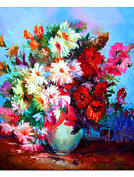 Hand Painted Oil Painting Still Life Gorgeous Petals with Stretched Frame