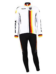 Kooplus - German National Team Cycling Long Sleeve Fleece Suit
