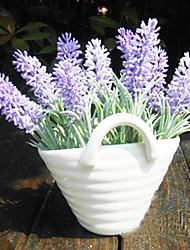 """7 """"h moderne stijl lavendel in keramische vaas arrangement"""