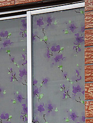 Classic Country Lavande Fleurs Window Film