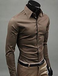 Café Loisirs shirt manches longues de A & W Hommes