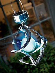 Solar LED Colour Changing Saturn Wind Spinner Hanging Spiral Light(CIS-58248)