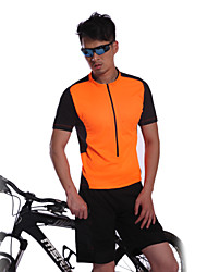 JAGGAD® Cycling Jersey Men's Short Sleeve Bike Breathable / Quick Dry / Wearable Jersey / Tops Spandex / Polyester SummerLeisure Sports /