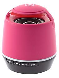 Altavoz Bluetooth S05 con un lector de tarjetas TF (rosa)