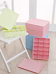 Classic Fresh Solid Style Divided Storage Box
