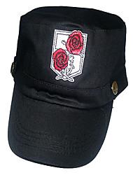 Attaque sur Titan Stationné Motif Corps Rose de chapeau de Cosplay