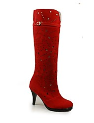 Women's Shoes Fashion Boots Platform Chunky Heel Knee High Boots More Colors available