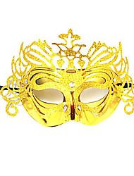 Венеция Королева Блеск Golden Женская Карнавал Маскарад партия маска