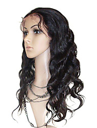 Malaysia Curly 18inch 100% Indian Remy Human Hair Sexy Natural Baby Hair Wigs