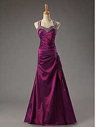 dresstells New Full Dress Fashion Birdesmaid Dresses Long(Fuchsia)