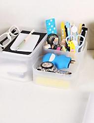 Set of 5 Classic Liscio Transparent Storage Boxes