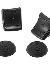 R / L Doppio Trigger Enhancement Non Slip per PS3 Controller (nero)