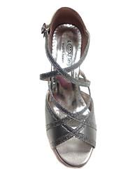Женские Верхушка PU Индивидуальные каблука Бальные танцевальная обувь танцевать Сандалии